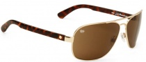 Spy Optic Showtime Sunglasses Sunglasses - Gold / Tortoise / Bronze