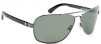 Spy Optic Showtime Sunglasses Sunglasses - Antique Silver W/ Black / Grey Polarized
