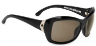Spy Optic Farrah Sunglasses Sunglasses - Shiny Black / Grey Polarized