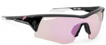 Spy Optic Screw Sunglasses Sunglasses - Black / Pink with Pink Spectra