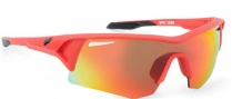 Spy Optic Screw Sunglasses Sunglasses - Translucent Grey / Bronze with Red Spectra