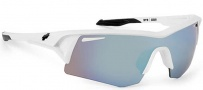 Spy Optic Screw Sunglasses Sunglasses - White / Bronze w/ Blue Spectra