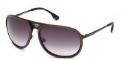 Diesel DL0021 Sunglasses Sunglasses - 49B Brown