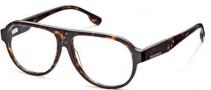 Diesel DL5003 Eyeglasses Eyeglasses - 052 Shiny Dark Havana