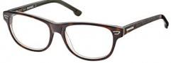 Diesel DL5005 Eyeglasses Eyeglasses - 056 Havana Pearl / Green