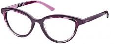 Diesel DL5009 Eyeglasses Eyeglasses - 082 Dark Violet / Rose Pattern