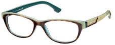 Diesel DL5012 Eyeglasses Eyeglasses - 056 Havana / Light Green