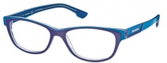 Diesel DL5012 Eyeglasses Eyeglasses - 092 Blue Transparent / Light Blue