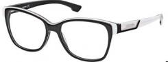 Diesel DL5013 Eyeglasses Eyeglasses - 005 Black / White / Pearl / Grey