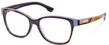 Diesel DL5013 Eyeglasses Eyeglasses - 056 Havana Lilac / Trans Violet