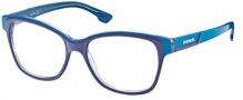 Diesel DL5013 Eyeglasses Eyeglasses - 092 Blue / Transparent Light Blue