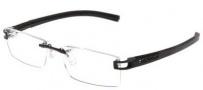 Tag Heuer 7641 Track-S Eyeglasses Eyeglasses - 001 Black / Black - Black Temples