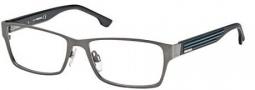 Diesel DL5014 Eyeglasses Eyeglasses - 008 Shiny Satin Gunmetal