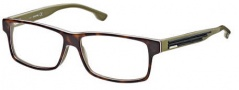 Diesel DL5015 Eyeglasses Eyeglasses - 056 Havana / White / Black / Khaki