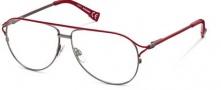 Diesel DL5017 Eyeglasses  Eyeglasses - 068 Shiny Gunmetal / Red
