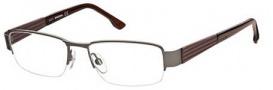 Diesel DL5018 Eyeglasses Eyeglasses - 009 Semi Shiny Gunmetal