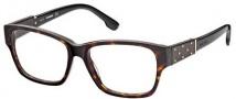 Diesel DL5036 Eyeglasses Eyeglasses - 052 Shiny Dark Havana