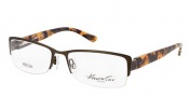 Kenneth Cole New York KC0190 Eyeglasses Eyeglasses - 050 Dark Brown