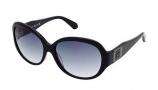 Kenneth Cole New York KC7030 Sunglasses Sunglasses - 01B Shiny Black / Gradient Smoke