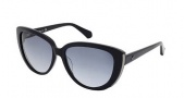 Kenneth Cole New York KC7032 Sunglasses Sunglasses - 01B Shiny Black / Gradient Smoke