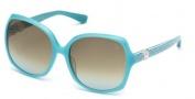 Swarovski SK0017 Sunglasses Sunglasses - 87K