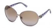 Swarovski SK0023 Sunglasses Sunglasses - 12F
