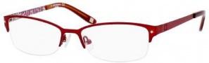 Liz Claiborne 377 Eyeglasses Eyeglasses - 0Y33 Red Rose Floral