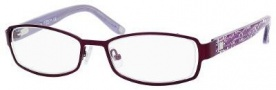 Liz Claiborne 378 Eyeglasses Eyeglasses - 0Y76 Purple Floral
