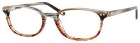 Liz Claiborne 380 Eyeglasses Eyeglasses - 0CZ2 Brown Horn Gradient