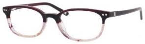 Liz Claiborne 380 Eyeglasses Eyeglasses - 0CY3 Dark Burgundy Gradient
