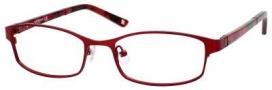 Liz Claiborne 384 Eyeglasses Eyeglasses - 0FC9 Red Rose