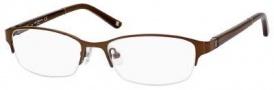 Liz Claiborne 385 Eyeglasses Eyeglasses - 0YGF Brown Gray