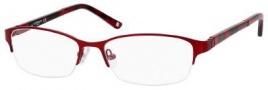 Liz Claiborne 385 Eyeglasses Eyeglasses - 0FC9 Red Rose