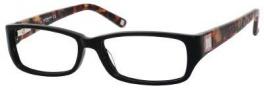 Liz Claiborne 386 Eyeglasses Eyeglasses - 0RF8 Black Terrecota