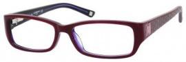 Liz Claiborne 386 Eyeglasses Eyeglasses - 0RF9 Burgundy Violet