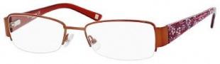 Liz Claiborne 387 Eyeglasses Eyeglasses - 0RC7 Copper Floral