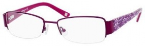 Liz Claiborne 387 Eyeglasses Eyeglasses - 0Y76 Purple Floral