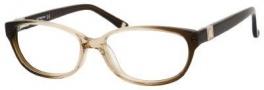 Liz Claiborne 389 Eyeglasses Eyeglasses - 0JPR Brown Fade Glitterz