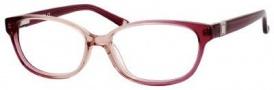 Liz Claiborne 389 Eyeglasses Eyeglasses - 0JPS Rose Fade Glitterz