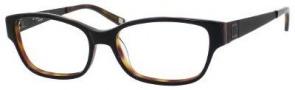 Liz Claiborne 390 Eyeglasses Eyeglasses - 0BG4 Black Dark Tortoise