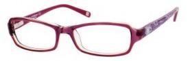 Liz Claiborne 391 Eyeglasses Eyeglasses - 0JNU Purple Crystal Floral