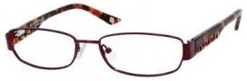 Liz Claiborne 392 Eyeglasses Eyeglasses - 0JCS Sangria (red)