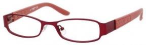 Liz Claiborne 420 Eyeglasses Eyeglasses - 0FC9 Red Rose