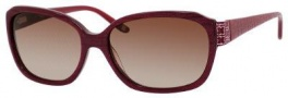 Liz Claiborne 548/S Sunglasses Sunglasses - 0JZB Burgundy Pearl (S4 Brown Gradient Lens)