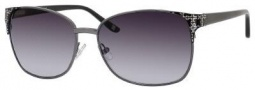 Liz Claiborne 550/S Sunglasses Sunglasses - 0CVL Dark Ruthenium (JJ Gray Gradient Lens)