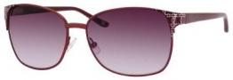 Liz Claiborne 550/S Sunglasses Sunglasses - 0EZ1 Satin Bordeaux (DZ Mauve Lens)