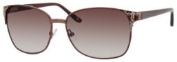 Liz Claiborne 550/S Sunglasses Sunglasses - 0ODQ Shiny Brown (CC Brown Gradient Lens)