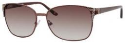 Liz Claiborne 550/S Sunglasses Sunglasses - 0ODQ Shiny Brown (CC Brown Gradient Lens)