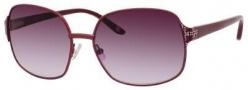 Liz Claiborne 551/S Sunglasses Sunglasses - 0EZ1 Satin Bordeaux (DZ Mauve Lens)