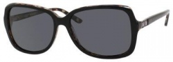 Liz Claiborne 553/S Sunglasses Sunglasses - FA7P Black (RA Gray Polarized Lens)